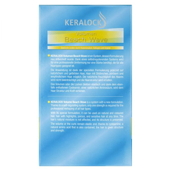 Keralock Volumen Beach Wave Beschreibungstext